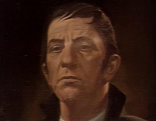 324 dark shadows barnabas portrait eyes