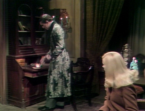 358 dark shadows barnabas carolyn fire
