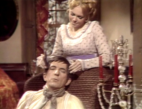 388 dark shadows face barnabas angelique