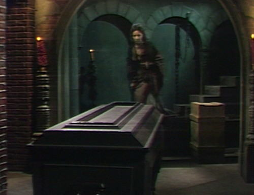432 dark shadows coffin old house basement