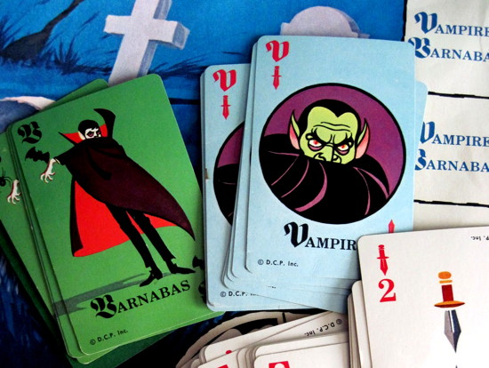 585 dark shadows game vampire cards