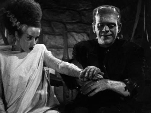 591 bride frankenstein petting