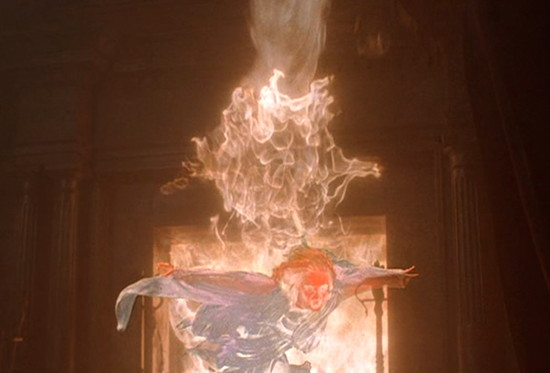 1991 dark shadows angelique fireplace