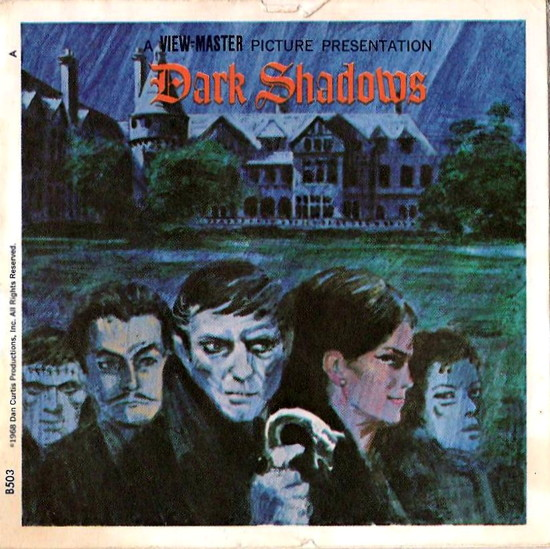 629 dark shadows view-master booklet