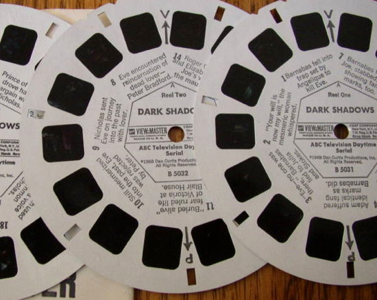 629 dark shadows view master reels