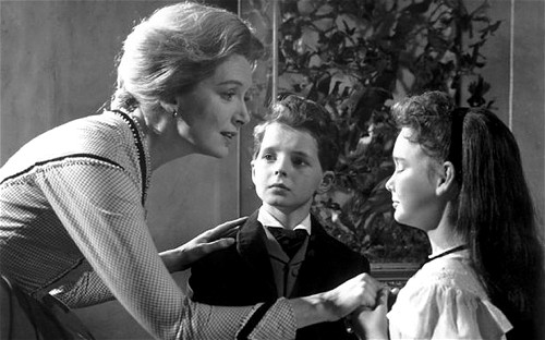 The Innocents - 1961...No Merchandising. Editorial Use Only. No Book Cover Usage Mandatory Credit: Photo by Snap Stills/REX (1918514c) Deborah Kerr, Martin Stephens and Pamela Franklin The Innocents - 1961