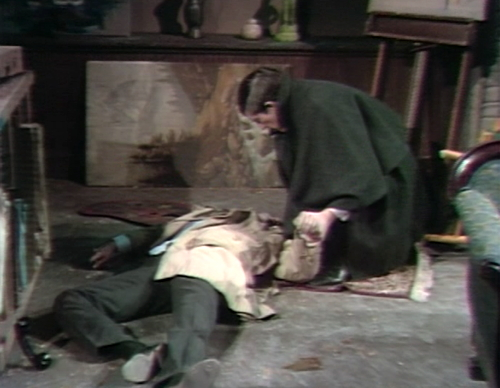 654 dark shadows barnabas joe fight