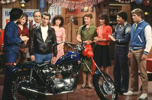 661 happy days fonzie motorcycle