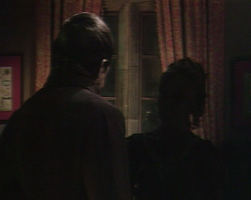 664 dark shadows barnabas angelique silhouette