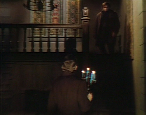 664 dark shadows barnabas ben foyer
