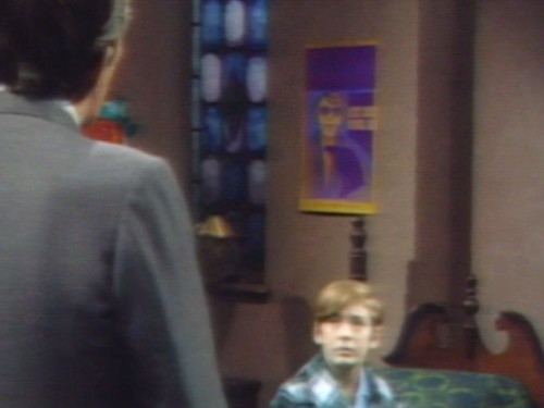 680 dark shadows barnabas purple poster