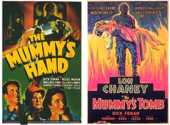 724 mummy's universal posters