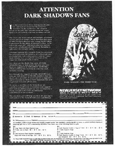 736 njn attention dark shadows fans