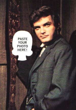 738 dark shadows quentin postcard