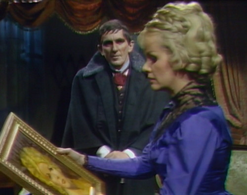 740 dark shadows barnabas laura portrait