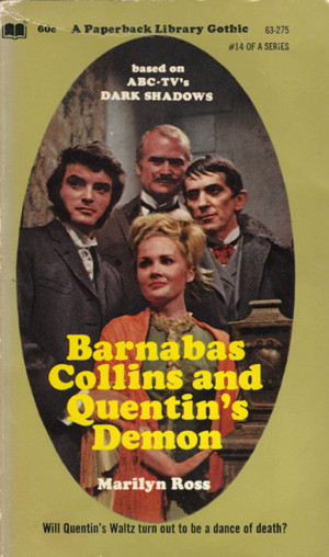 782 paperback library barnabas collins and quentin's demon