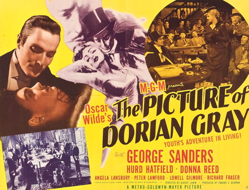 807 the picture of dorian gray poster