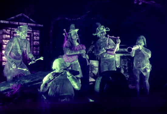 813 haunted mansion graveyard band