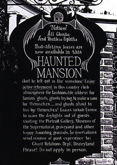 813 haunted mansion notice 2