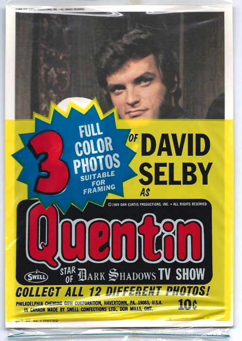 854 dark shadows quentin postcards package