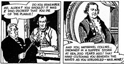 dark shadows comic strip 1 ancestor