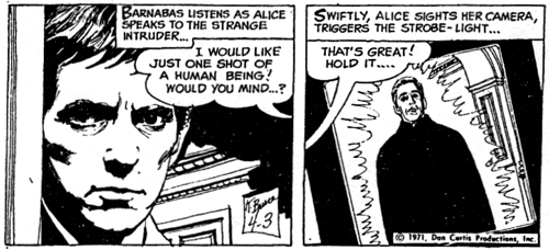 dark shadows comic strip 1 april third