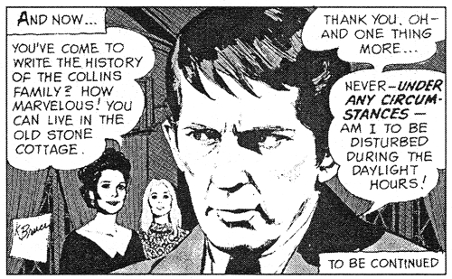 dark shadows comic strip 1 liz barnabas