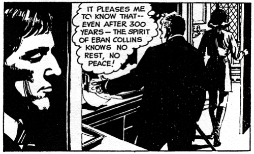 dark shadows comic strip 1 no rest
