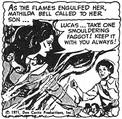 dark shadows comic strip 1 smouldering