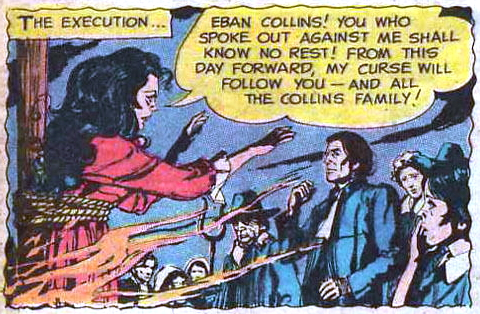 dark shadows comic strip 1 witch eban