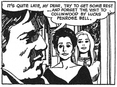 dark shadows comic strip 2 forget
