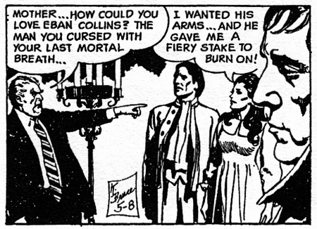 dark shadows comic strip 2 hate