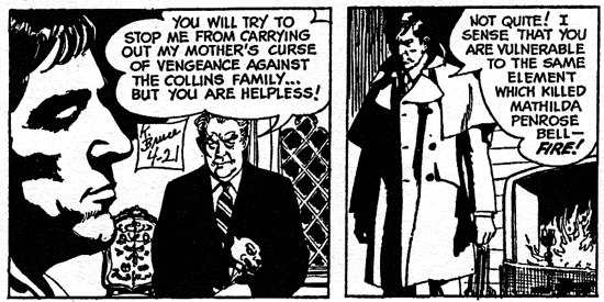 dark shadows comic strip 2 helpless