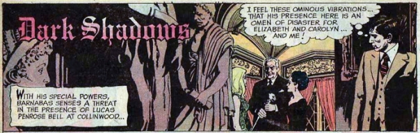 dark shadows comic strip 2 ominous vibrations