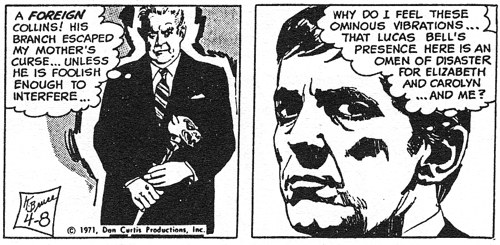 dark shadows comic strip 2 vibrations