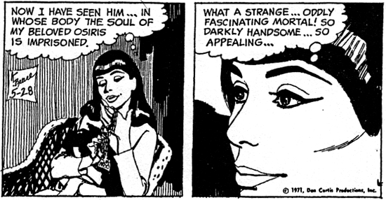 dark shadows comic strip 3 handsome