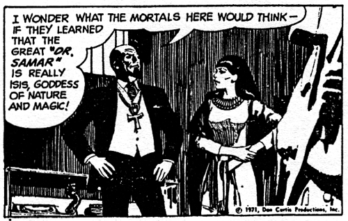 dark shadows comic strip 3 mortals