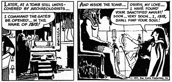 dark shadows comic strip 3 osiris my love