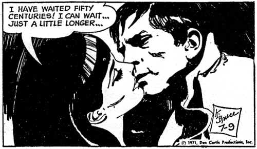dark shadows comic strip 4 centuries