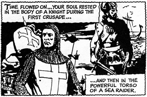 dark shadows comic strip 4 crusades
