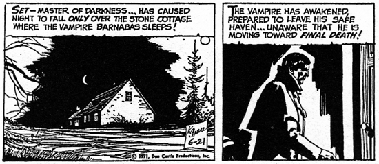 dark shadows comic strip 4 final death