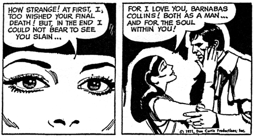 dark shadows comic strip 4 love