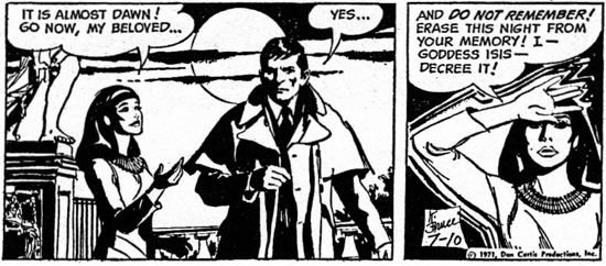 dark shadows comic strip 4 remember