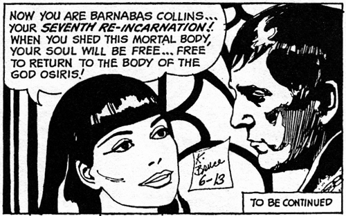 dark shadows comic strip 4 soul