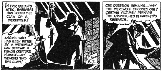 dark shadows comic strip 5 anyone