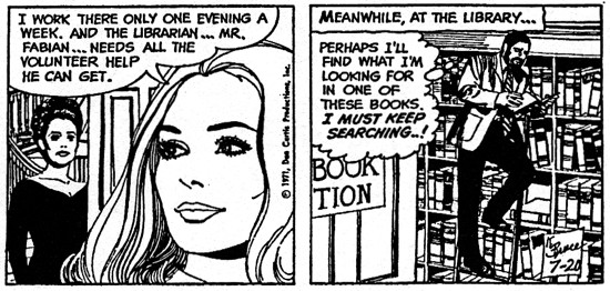 dark shadows comic strip 5 library
