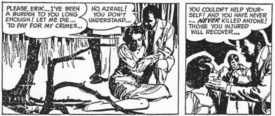 Dark Comic Strip