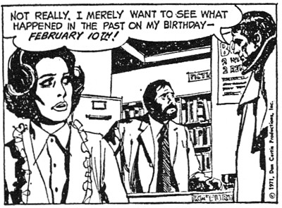 dark shadows comic strip 5 not really