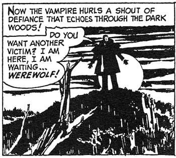 dark shadows comic strip 5 shout of defiance