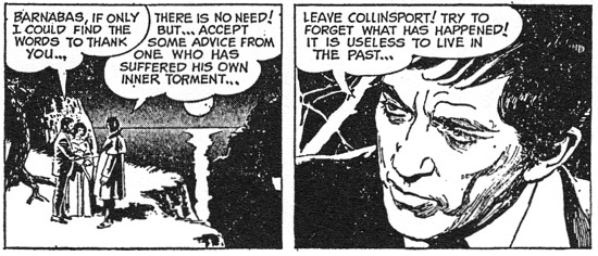 dark shadows comic strip 5 try to forget